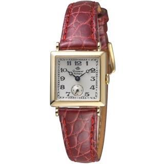 【玫瑰錶 Rosemont】戀舊系列時尚腕錶(TN011-03-DBU紅)