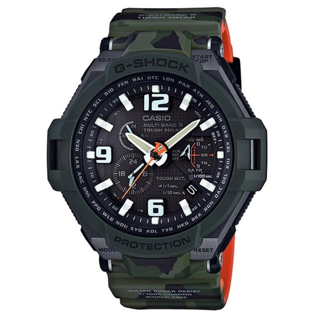【CASIO】G-SHOCK MASTER OF G 迷彩造型電波錶(GW-4000SC-3A)