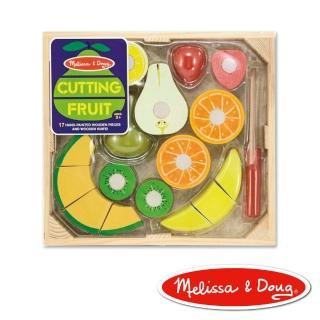 【美國瑪莉莎 Melissa & Doug】玩食趣 - 切水果組