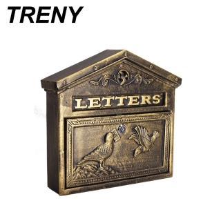 【TRENY】自然風情-和平鴿鑄鐵信箱