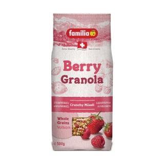 ~Familia~瑞士全家草莓綜合穀物早餐 500g 來自瑞士的天然穀物