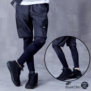 【BLUE WAY】耐力提升九分壓力褲-BlueKONn.