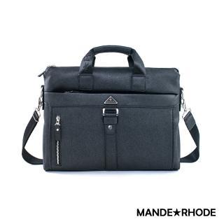 【MANDE RHODE 曼德羅德】里米尼LM-A-經典手提側背兩用公事包(52821)