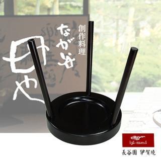 【日本長谷園伊賀燒】木製塔金鍋蓋架