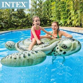 【INTEX】大海龜戲水浮排/水上坐騎191*170cm適用3歲+(57555)