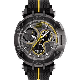 【TISSOT】天梭 T-RACE THOMAS LUTHI 2017湯瑪斯‧盧蒂限量版賽車錶(T0924173706701)