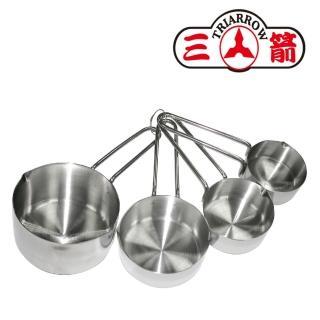 【三箭牌】4PCS不鏽鋼量杯(24127)