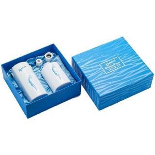 【KOMIZU】遠紅外線&負離子&亞硫酸鈣三合一除氯沐浴器禮盒組