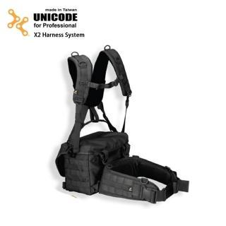 【UNICODE】X2 Harness System 通用雙肩腰封負重系統(不含背包)