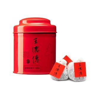 【王德傳】凍頂烏龍手工棉布袋茶18入含罐/
