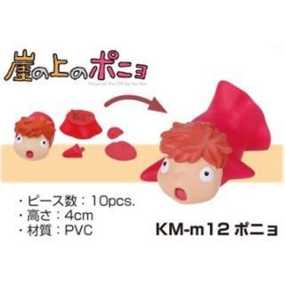 【日版】ENSKY 立體拼圖 KM-m12 崖上的波妞 吉卜力 宮崎駿(立體 3D 拼圖)