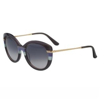 【Salvatore Ferragamo】-時尚優雅太陽眼鏡 SF724S(灰紫色)