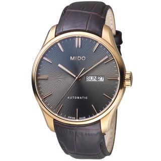 【MIDO美度錶】Belluna Gent系列時尚紳士腕錶(M0246303606100)