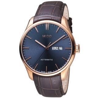【MIDO美度錶】BELLUNA II系列系列時尚紳士機械錶(M0246303604100)