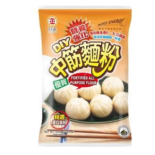 【日正食品】營養強化中筋麵粉(1000g)