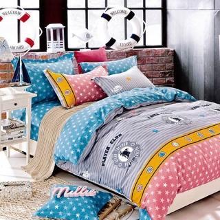 【Indian】半夏時光純綿四件式床包兩用被組(雙人)