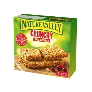【NATURE VALLEY】天然谷 纖穀派 蔓越莓燕麥(21gx2片x5條/盒)