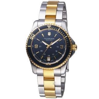 【VICTORINOX 瑞士維氏】Maverick GS系列潛水女腕錶(VISA-241612)