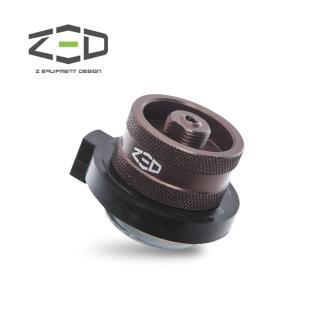 【ZED】瓦斯轉接頭 ZAACA0101(登山卡式轉接、附轉接頭、烤肉用)