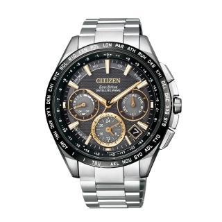 【CITIZEN】GPS衛星對時F900光動能鈦腕錶(CC9015-54F)