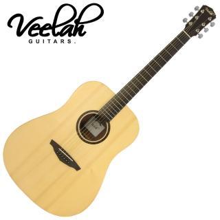 【VEELAH】V1-D 民謠木吉他 原木色款(全新原廠公司貨品管有保障)