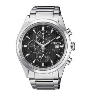 【CITIZEN】超級鈦金屬光動能計時腕錶(CA0650-82F)