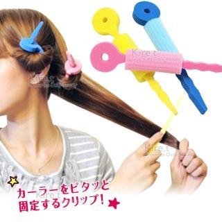 ~kiret~ 空氣感 髮捲棒海綿髮捲 12入~卷髮 多色  髮捲  捲髮器 髮捲棒 髮卷