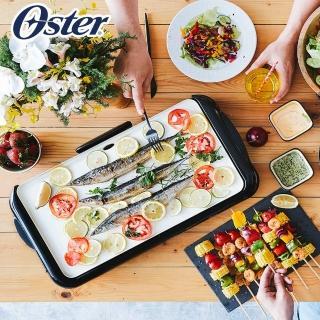 【買就抽Honeywell清淨機】美國Oster BBQ陶瓷電烤盤CKSTGRFM18W-TECO