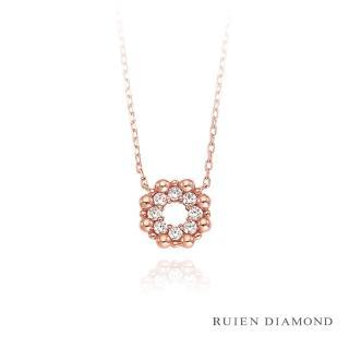 【RUIEN DIAMOND】韓國輕珠寶 飾品 配件(14K 玫瑰金 項鍊 LN165)