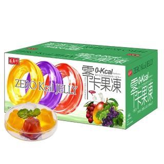 【盛香珍】零卡小果凍量販箱-綜合水果口味6kg(約220顆)