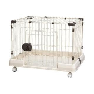 【IRIS】棕色精緻上蓋可掀式貓狗籠(RKG-900L)