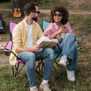 【Horizon 天際線】輕便折疊野餐一桌二椅輕便組