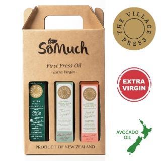 【壽滿趣- 紐西蘭廚神系列】黃金酪梨油/托斯卡尼/香辣西西里風味橄欖油(250ml三瓶禮盒裝)