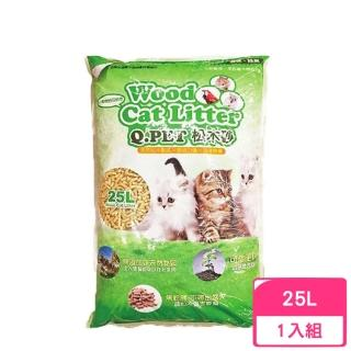 【Q.PET】Wood Cat Litter 松木砂 25L