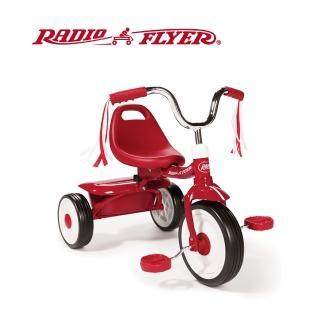 【美國RadioFlyer】紅騎士折疊三輪車(#411A型)
