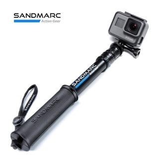 【SANDMARC】鋁合金強力延伸桿 旅行款 25吋_加贈 GoPro 板手(GoPro自拍棒 GoPro延伸桿 鋁合金延伸桿)