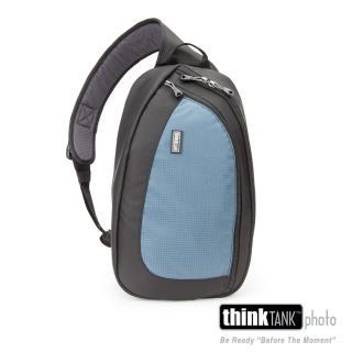 【ThinkTank創意坦克】360度單肩斜背/腰包兩用相機背包 L (藍)-TS464