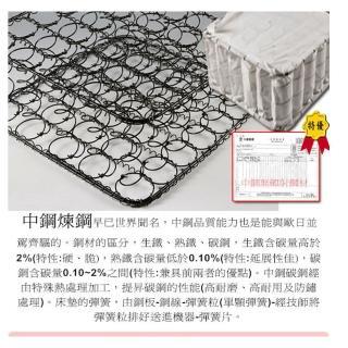 【ESSE御璽】天絲三線高迴彈2.3硬式彈簧床墊(雙人)-618限定防疫好眠