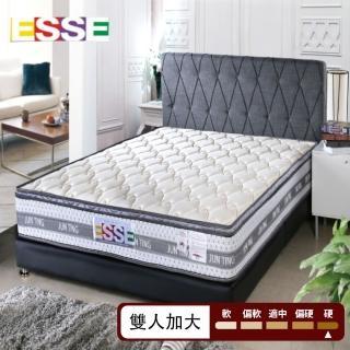【ESSE御璽名床】天絲三線高迴彈2.3硬式彈簧床墊(雙人加大)