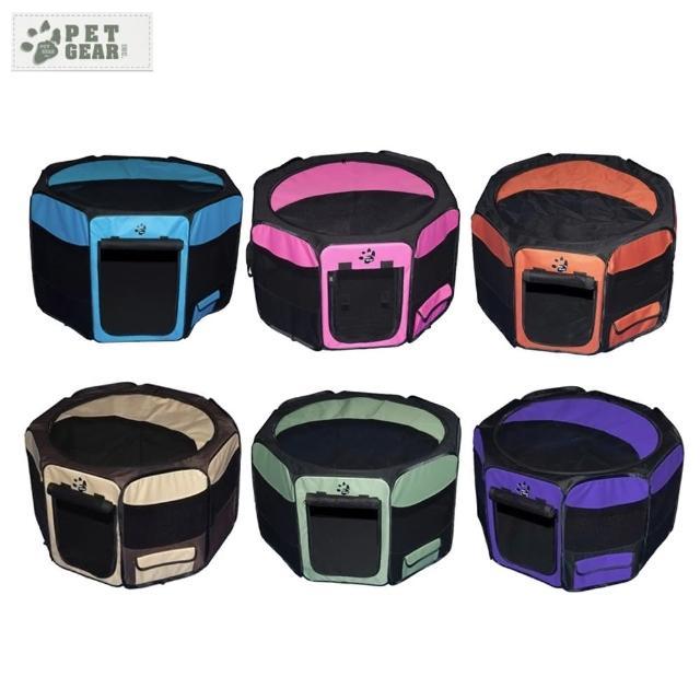 【Pet Gear】八角型摺疊寵物籠《大》(TL-4146)