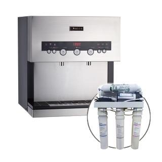 【德克生活】Q3-2S桌上型冷熱雙溫飲水機(贈快拆5道式RO逆滲透)