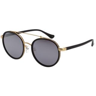 【Calvin Klein】韓版系列 水銀面 太陽眼鏡 CK1225SK(黑配金)