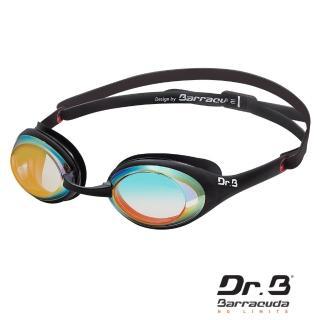 【美國巴洛酷達Barracuda】巴博士Dr.B#94190 度數電鍍泳鏡DRB941(抗UV度數電鍍競速泳鏡)