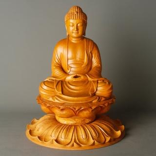 【MU LIFE 荒木雕塑藝品】1.6尺釋迦佛(佛像)