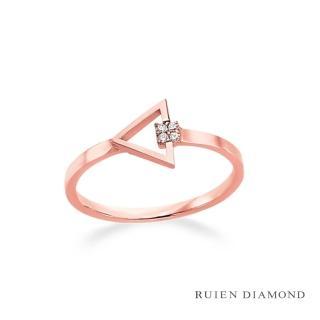 【RUIEN DIAMOND】韓星 金智媛代言款(14K戒指 LR186)