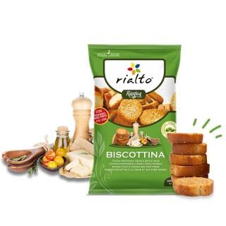 【Rialto】非油炸吐司脆餅-法式凱薩沙拉口味(100g)