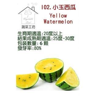 【蔬菜工坊】I02.小玉西瓜種子