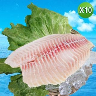 【賣魚的家】新鮮鯛魚片10片組(150-200G/ 片)