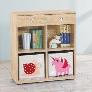 【AS】愛寶耐磨橡木3尺原木色多功能置物櫃-37.5x80.6x90.9