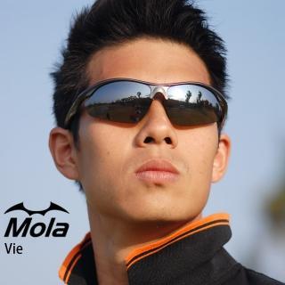 【MOLA】MOLA SPORTS 摩拉運動太陽眼鏡 一般臉型 自行車 高爾夫 跑步 棒球 Vie-pbb